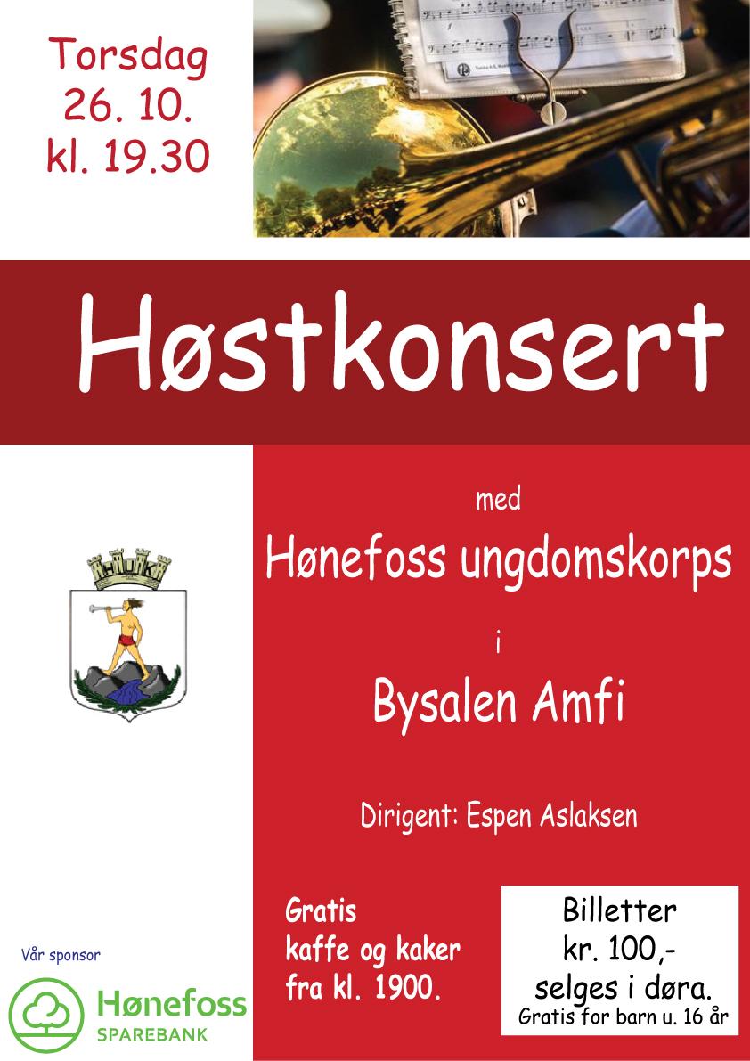 Høstkonsert 26.10.17 kl. 19.30
