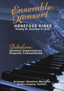 Ensemblekonsert i Hønefoss kirke
